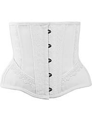 abordables -Coton / Polyester Corset Couture en Dentelle Mariage