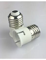 cheap -1pc E27 to B22 E14 100-240 V Converter Plastic Light Bulb Socket