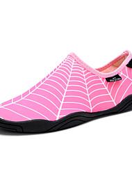 Недорогие -Жен. Эластичная ткань Лето Спортивные / На каждый день Спортивная обувь Дышащая спортивная обувь На плоской подошве Круглый носок Серый / Синий / Розовый