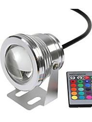 Недорогие -1шт 10 W Подводное освещение Водонепроницаемый RGB 12 V Бассейн / Сад 1 Светодиодные бусины
