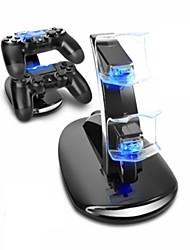 Недорогие -Зарядная станция прочный светодиодные индикаторы игровой контроллер зарядное устройство для PS4 / PS4 Slim / PS4 Pro
