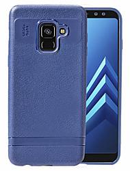 ราคาถูก -Case สำหรับ Samsung Galaxy A8 Plus 2018 Shockproof / Dustproof ปกหลัง สีพื้น Soft TPU สำหรับ A8+ 2018