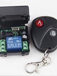 Недорогие -Smart Switch AK-RK01+AK-BF02 для Повседневные / Автомобиль / Спальня Мини / Безопасность / Дистанционно управляемый Пульт управления Беспроводное 12 V