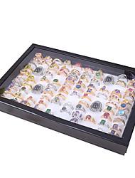 billige -smykker ring smykkeskrin øreringe smykker plade 100 ring smykker bakke opbevaring skærmplade