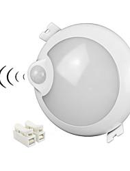 Недорогие -zdm® 1 шт. 5 Вт 400 лм 25 x 2835 светодиодов Инфракрасный датчик человеческого тела светодиодные светильники холодного белого цвета ac100-240 В
