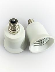 cheap -1pc E12 to E27 E14 100-240 V Converter Plastic Light Bulb Socket