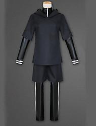 Недорогие -Вдохновлен Токио вурдалак Кен Kaneki Аниме Косплэй костюмы Японский Косплей Костюмы Однотонный Длинный рукав Пальто / Кофты / Брюки Назначение Муж.