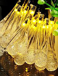 Недорогие -1 компл. Светодиодный свет шнура 10 легкий капель воды таинственный водяной пар пузырь капли воды ночник батарейный отсек огни
