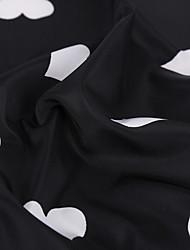 povoljno -Dzsörzé Geometrijski oblici Uzorak 150 cm širina tkanina za Odjeća i moda prodan od Metar