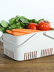 Недорогие -Высокое качество с ABS Коробки для хранения / Висячие корзины Повседневное использование / Для приготовления пищи Посуда / Необычные гаджеты для кухни Кухня Место хранения 1 pcs