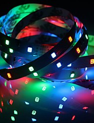 abordables -1pc ip20 rgb 300 led bande de lumière 5m 60leds / m smd 2835 blanc chaud blanc jaune rouge vert bleu led bande 12v linkable / auto-adhésif / tv fond bande flexible corde bande
