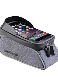 Недорогие -Сотовый телефон сумка Бардачок на раму 6 дюймовый Велоспорт для Красный Светло-сизый Темно-серый Велосипеды для активного отдыха