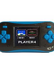 Недорогие -rs-16 ретро портативный игровой плеер для детей портативная игровая система видеоигры 2.5 встроенных 260 жк-игры