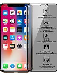 Недорогие -Защитная пленка для защиты личных данных из закаленного стекла для iphone X XR XS Max Защитная пленка для iPhone 7 8 6s плюс анти подглядывание защитная