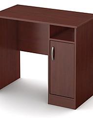 Недорогие -компактный компьютерный стол с отделкой из королевской вишни