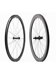 Недорогие -FARSPORTS 700CC Колесные пары Велоспорт 25 mm Шоссейный велосипед Поликарбонат / Углеродное волокно Подходит для клинчерной покрышки / бескамерной шины 20/24 Спицы 50 mm / 30 mm