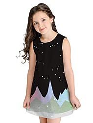 お買い得  -子供 女の子 ギャラクシー ドレス ブルー