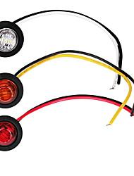 Недорогие -2шт автомобильные лампочки 1 Вт 80 лм светодиодные противотуманные фары / указатели поворота / боковые габаритные огни для универсальных двигателей общего назначения все годы