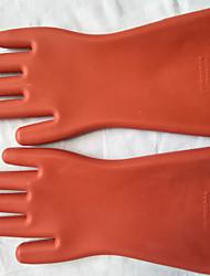 Недорогие -защита рук высокого напряжения / перчатки из натурального каучука / электроизоляционные перчатки 12 кВ