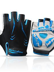 Недорогие -Перчатки для велосипедистов Дышащий Противозаносный Пригодно для носки Спортивные перчатки Лайкра Махровая ткань Белый Красный Синий для Взрослые На открытом воздухе Велосипедный спорт / Велоспорт