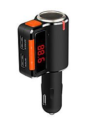 Недорогие -bc09 автомобиль двойной usb зарядка fm запуск музыкальный проигрыватель bluetooth