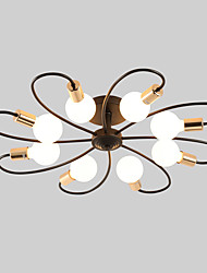 Недорогие -JSGYlights 8-Light Спутник Потолочные светильники Рассеянное освещение Окрашенные отделки Металл Новый дизайн 110-120Вольт / 220-240Вольт