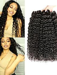 billige -3 Bundler Peruviansk hår Vand Bølge Jomfruhår 100% Remy Hair Weave Bundles Hovedstykke Bundle Hair Hårforlængelse af menneskehår 8-28 inch Naturlig Menneskehår Vævninger Dame Ekstention Bedste