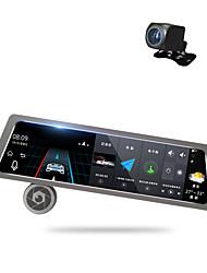 Недорогие -Factory OEM D10 1080p Автомобильный видеорегистратор 170° Широкий угол 10 дюймовый Капюшон с GPS / Режим парковки / Циклическая запись Автомобильный рекордер