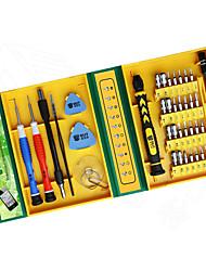 abordables -BST-8921 38 dans 1 tournevis multifonctions ensemble trousse à outils ouverture réparation réparer pour iphone / ordinateur portable / smartphone / montre avec étui