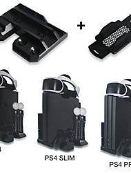 Недорогие -Комплекты зарядных устройств для PS4 / Sony PS4 / PS4 Slim эффективной и удобной многофункциональной моды прочные игровые аксессуары черный