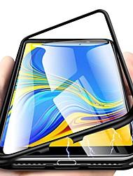 Недорогие -Кейс для Назначение SSamsung Galaxy J8 (2018) / J6 (2018) / J6 Plus Защита от удара / Ультратонкий / Прозрачный Чехол Однотонный Твердый Закаленное стекло