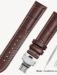 Недорогие -Замена ткани 1853 мужские кожаные часы с Locke женские кожаные аксессуары Casio Longines браслет 16/18/19/20 мм