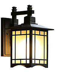 Недорогие -1шт 5 W Внешние настенные светильники Водонепроницаемый Тёплый белый 85-265 V Уличное освещение / двор / Сад 1 Светодиодные бусины