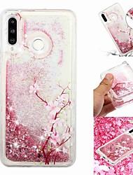baratos -Capinha Para Samsung Galaxy Galaxy M20(2019) / Galaxy M30(2019) Liquido Flutuante / Transparente / Estampada Capa traseira Árvore Macia TPU para Galaxy M10 (2019) / Galaxy M20(2019) / Galaxy M30(2019)