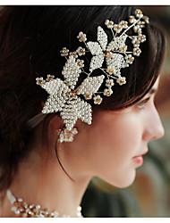 billige -Imitert Perle pannebånd med Imiterte Perler 1 Deler Bryllup / Dagligdagstøy Hodeplagg