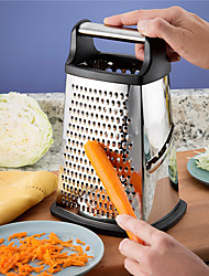 levne -4 strany nerezové oceli profesionální box struhadlo s doživotní náhradou zeleniny ovoce drtič na sýr