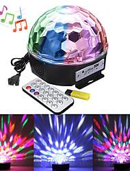 Недорогие -1 компл. Светодиодный свет этапа mp3 магический шар музыка свет управления звуком фоновый свет диджей бар бальные украшения свет