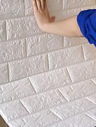 Недорогие -Декоративные наклейки на стены - 3D наклейки / Праздник стены стикеры Геометрия / 3D Гостиная / Детская / Влажная чистка / Съемная