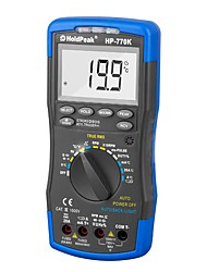 Недорогие -Holdpeak hp-770k цифровой автомобильный мультиметр анализатор двигателя ручной тестер напряжение переменного / постоянного тока частота тока тестер ncv