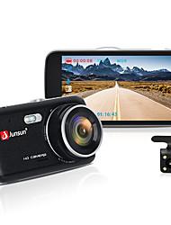 Недорогие -junsun h7n автомобильный видеорегистратор с двумя объективами ips 4.0 full hd 1080p видеорегистратор ночного видения автомобильный видеорегистратор видеорегистратор