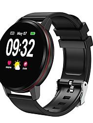 Недорогие -S01 Мужчины Умный браслет Android iOS Bluetooth Водонепроницаемый Сенсорный экран Пульсомер Измерение кровяного давления Спорт ЭКГ + PPG