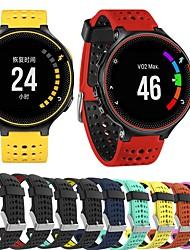 Недорогие -Ремешок для часов для Forerunner 235 / Forerunner 230 / Forerunner 220 Garmin Спортивный ремешок силиконовый Повязка на запястье
