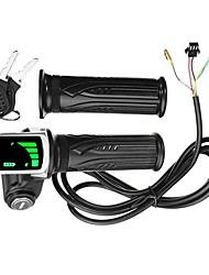 Недорогие -24v / 36v / 48v жк-индикатор дроссельной батареи поворотный выключатель питания для скутера электрический велосипед