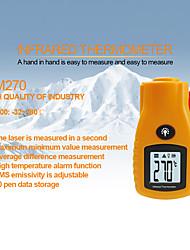 Недорогие -rz цифровой бесконтактный инфракрасный мини лазерный термометр с термометром -32 ~ 280c 12: 1 наружный ручной термометр gm270