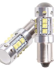 Недорогие -12-24 В ba9s bax9s h21w bay9s светодиодные 16шт чипы для заднего хода автомобиля габаритные огни номерного знака lightswhite