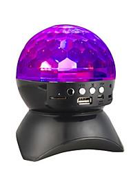 Недорогие -диктор bluetooth 4.0 dj с встроенной светлой сценой&усилитель; Студия эффектов освещения TF / SD Card