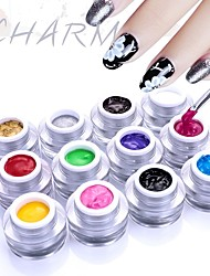 cheap -Nail Polish UV Gel  5 ml 1 pcs Stylish / Glamour Soak off Long Lasting  Daily Wear / Festival Stylish / Glamour Fashionable Design / Multi Color / Colorful