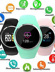 Недорогие -Q1 умные часы женщины 0,96 цветной жк-экран кровяное давление монитор сердечного ритма SmartWatch для Android IOS