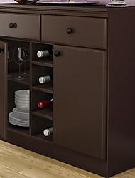Недорогие -Консольный столик с ящиками для хранения в шоколаде