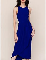 זול -עד הברך טלאים, אחיד - שמלה סווינג בסיסי בגדי ריקוד נשים